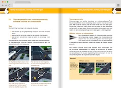 Screenshot 2: bromfiets theorieboek